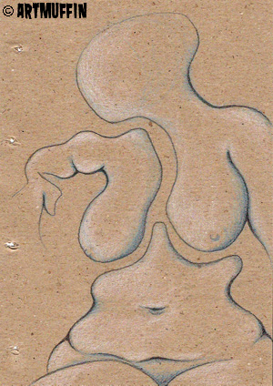 X_05 - Nude Figure - Children of the Soft Machine