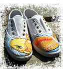 Hand painted shoes!